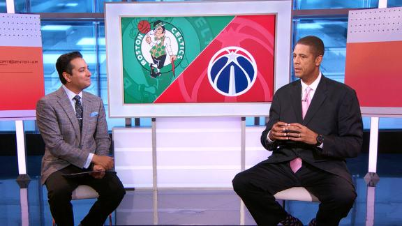 Daugherty loves chippiness between Wizards and Celtics