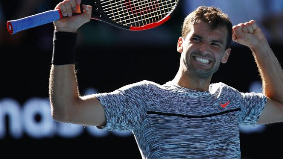 Dimitrov: I'm enjoying the fight