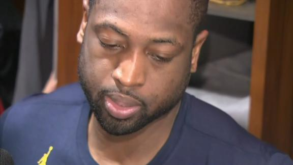 Wade calls out teammates after loss