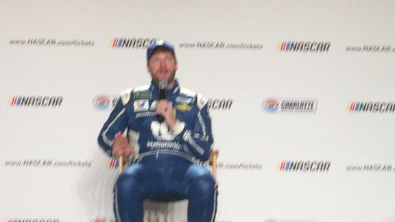 Dale Earnhardt Jr. explains why it wasn't all that emotional when he