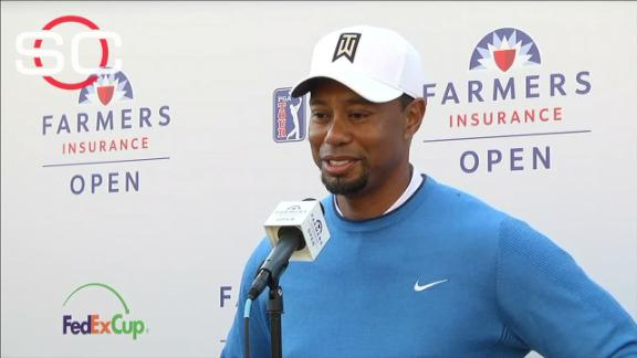 Tiger: 'I was fighting out there all day'