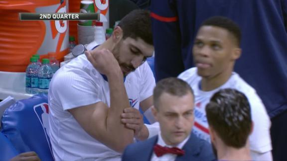 Kanter fractures forearm by punching chair