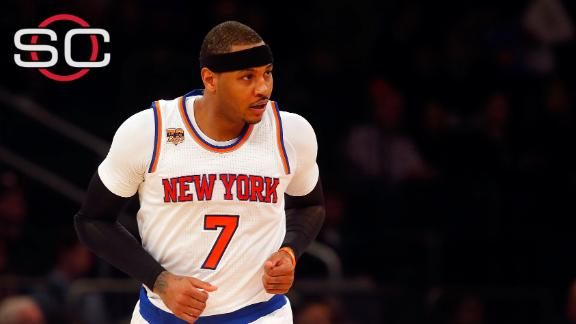 Teams looking to steal Melo away from Knicks?