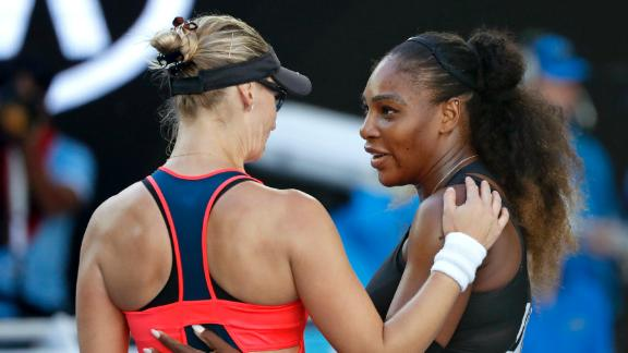 Serena advances to face Venus in Australian Open final