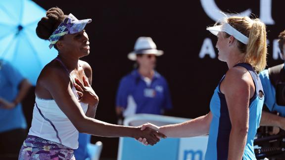 Venus Williams advances to Australian Open final