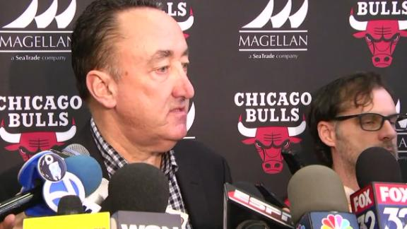 Bulls GM furious team didn't keep issues in house