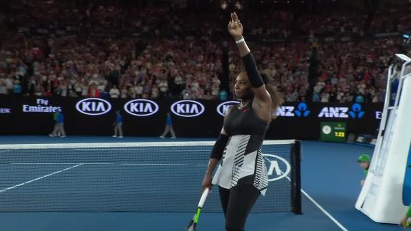 Serena Williams wins Australian Open