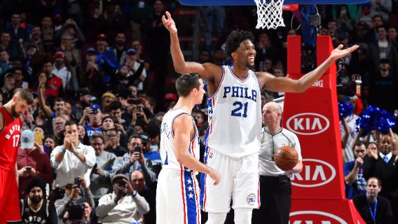Embiid validating the process in Philly