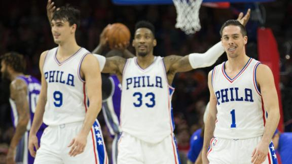 76ers top Kings despite 46 points from Cousins