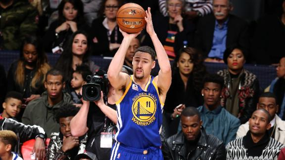 Klay returns to the 3-Point Contest