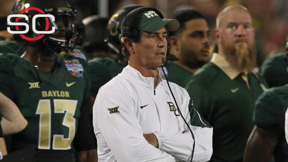 Briles, coaches tried to cover up player misbehavior