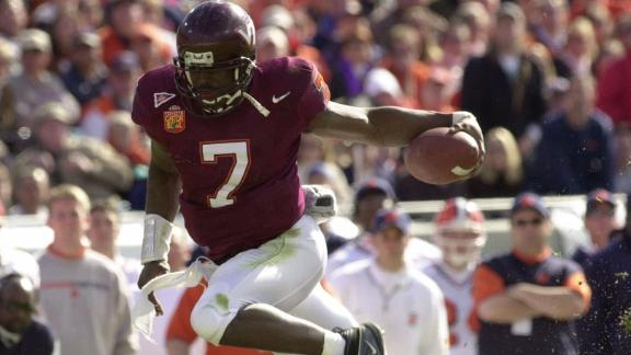 Vick had two incredible years at Virginia Tech