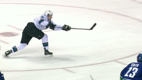 Marleau nets 500th career goal in Sharks' win
