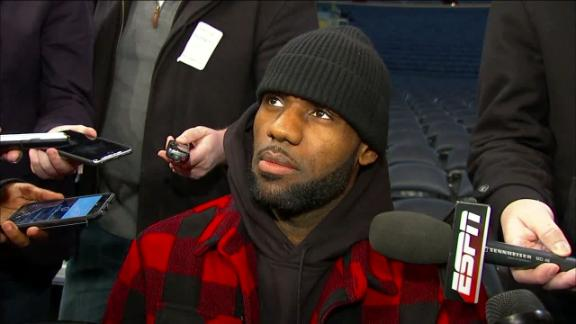 LeBron on Carmelo: 'I want the best for my brother'