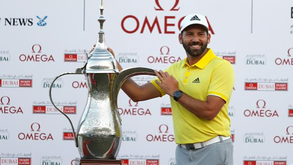 Garcia wins Dubai Desert Classic