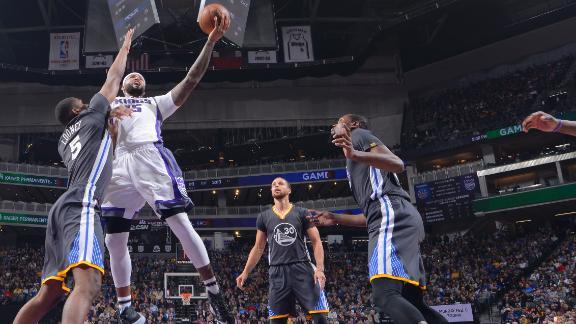 Golden State Warriors 106-109 Sacramento Kings