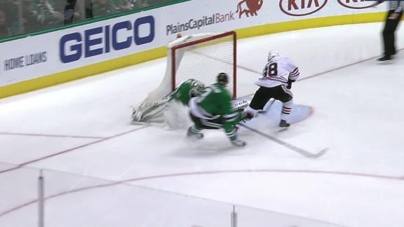 Kane scores on the breakaway in Blackhawks' win