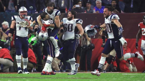 Patriots orchestrate top Super Bowl comeback ever