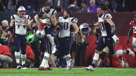 Patriots orchestrate top Super Bowl comeback ever