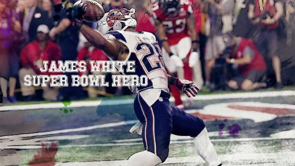 James White's heroics seal Super Bowl win