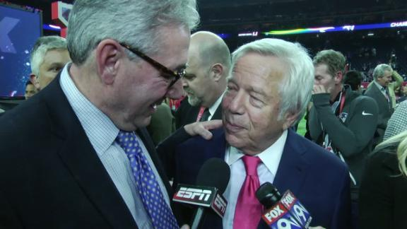 Kraft: 'A lot of things came together' for SB win