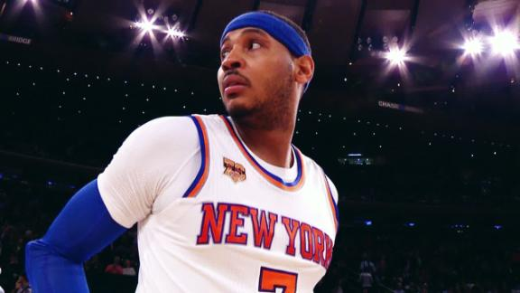 Melo's Knicks journey has had its ups and downs