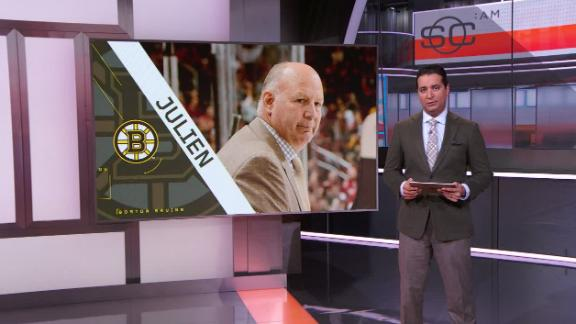 Julien fired after 10 seasons with Bruins