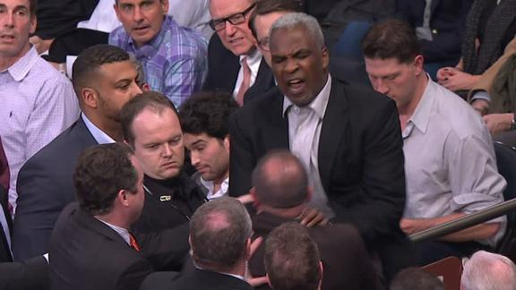 Charles Oakley arrested after altercation at MSG