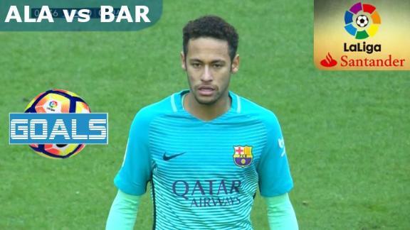 Alaves vs FC Barcelona-Full Match Goals-LaLiga Santander 2016-17-11th Feb, 2017