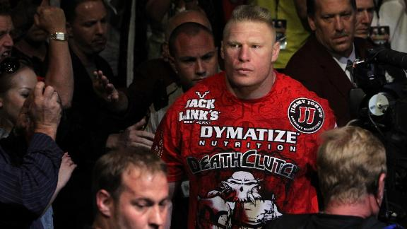 Lesnar tells UFC he is done