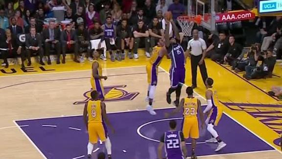 Cousins spins and throws one down in win