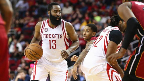 Harden puts up another triple-double in loss