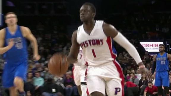 Jackson shines in Pistons' win over the Mavs