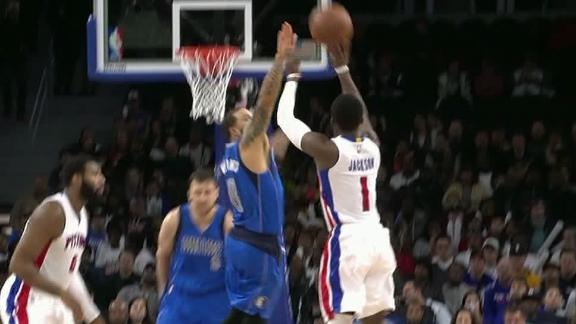 Jackson continues big night with deep 3-pointer