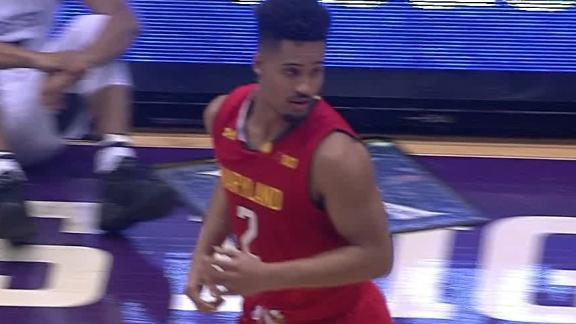 Trimble's monster game leads Maryland past Northwestern
