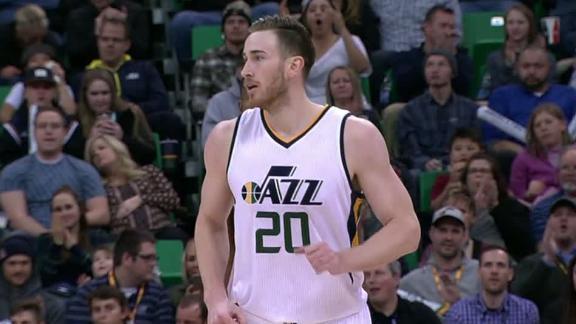 Hayward shines in Jazz's win over Blazers