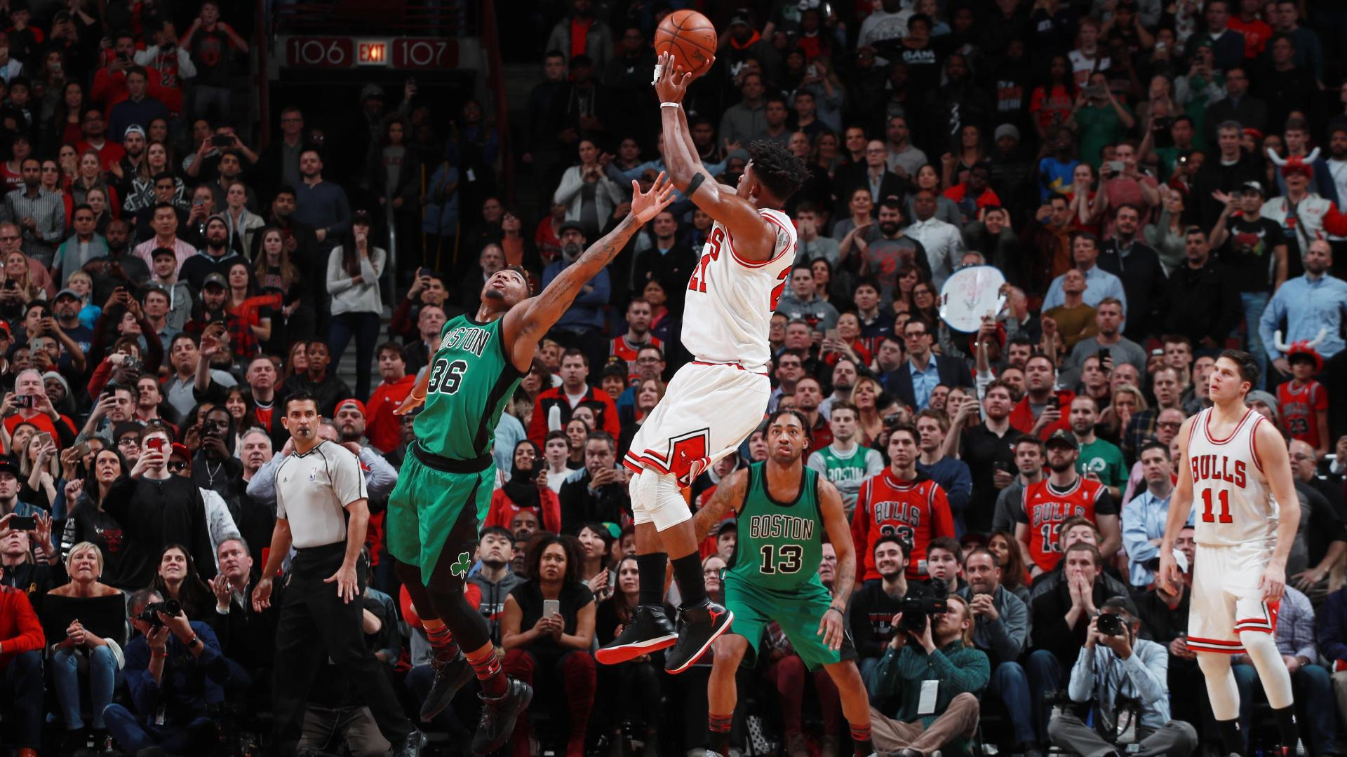 Bulls edge Celtics on late foul on Butler