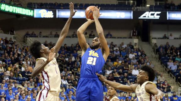 Jeter's 29 lifts Pitt over Florida State