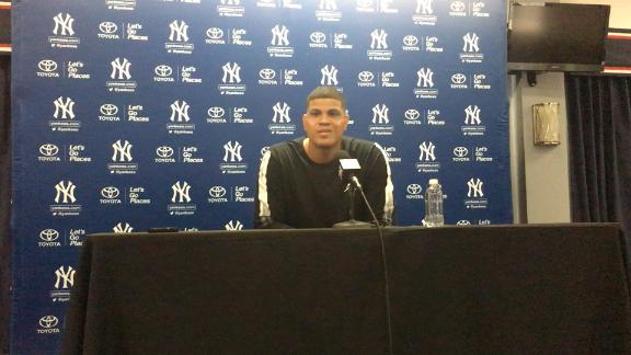 Dellin Betances, for the first time, speaks up and stands up for