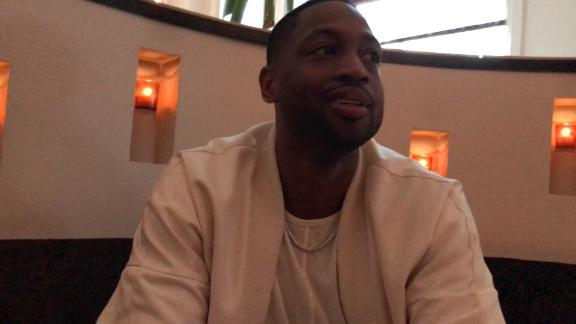 Dwyane Wade is still surprised he's not on the Heat this season.