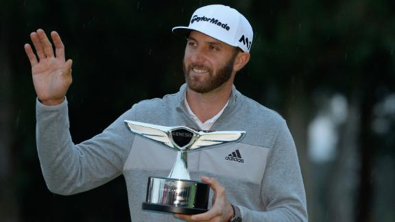 Dustin Johnson wins Genesis Open to claim world No. 1 ranking
