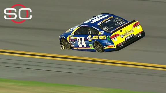 Chase Elliott edges Dale Earnhardt Jr. to win 2nd straight Daytona pole