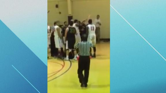 Big brawl in D-III game leads to arrest