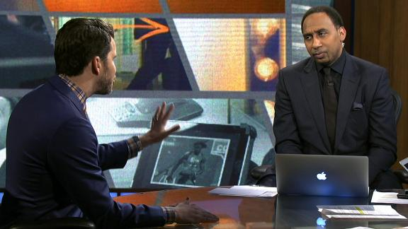 Stephen A. challenges Will Cain about Romo's 'greatness'