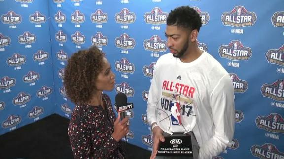 Davis breaks Wilt's ASG scoring mark, wins MVP