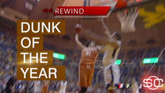 Jarrett Allen's insane dunk highlights night of eye-popping CBB plays