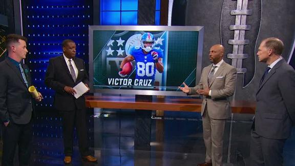 Victor Cruz could fill slot role on Panthers