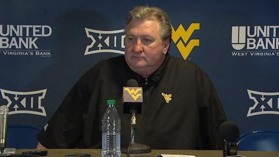 WVU's Bob Huggins: On-court scare caused by defibrillator going off