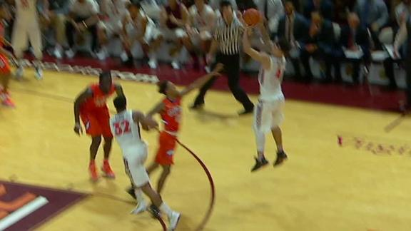Allen drills the winning 3-pointer for Virginia Tech