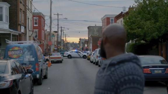 Malcolm Jenkins goes on a ride-along with Philadelphia police
